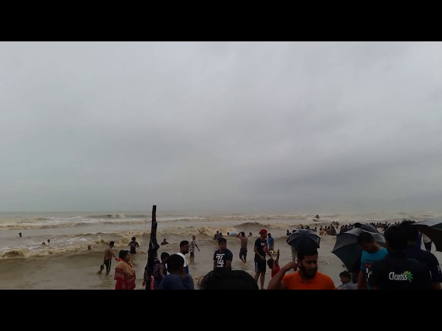 Coxs Bazar sea beach/Open sea bathing beautiful beach in the world
