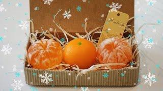 Новогоднее мыло МАНДАРИН 3D❄ Мастер-класс ❄ Мыловарение ❄ Soap making(, 2015-12-05T09:35:12.000Z)