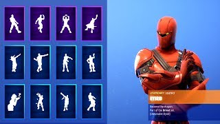 *NEW* Season 8 SKIN Hybrid WITH ALL FORTNITE DANCES & NEW EMOTES! (Fortnite Season 8 Skin)