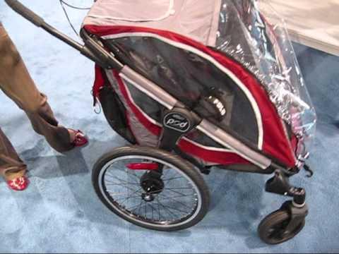 Go gaga for the Baby Jogger POD Bike Trailer, Baby Stroller & Jogger all in one