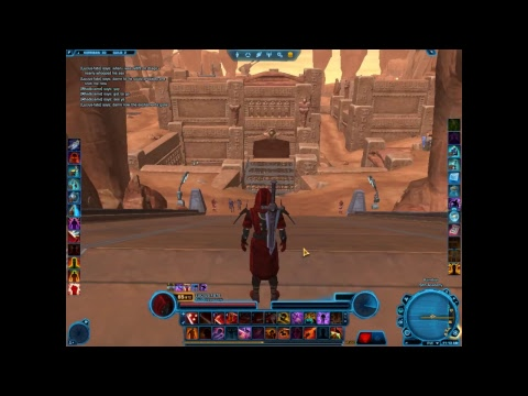 Star Wars: The Old republic, playing, chatting, having fun