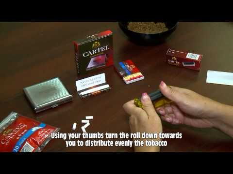 M TOBACCO Ltd. - Cigarette rolling machine CARTEL