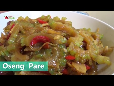 How To Cooking Saute Pare To Not Bitter - Dapur Syifa