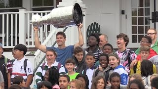 Ben Lovejoy '99 Brings the  Stanley Cup to Cardigan