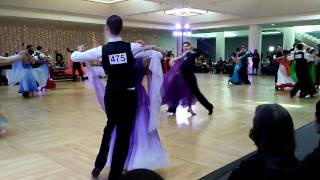 Harvard Invitational Ballroom Dance Competition 2017 Foxtrot Rd 2 (Standard)