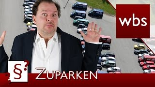 Darf ich jemanden zuparken? | Rechtsanwalt Christian Solmecke