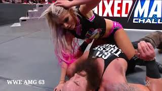 WWE Raw 29 Jan 2020 Alexa Bliss Kiss Braun Strowma
