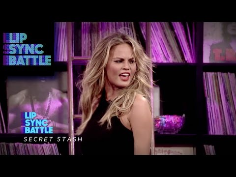 "Chrissy Teigen performs ""...Baby One More Time"" 