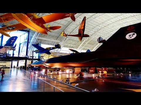 National Air Space Museum & Steven Udvar-Hazy Center 2017