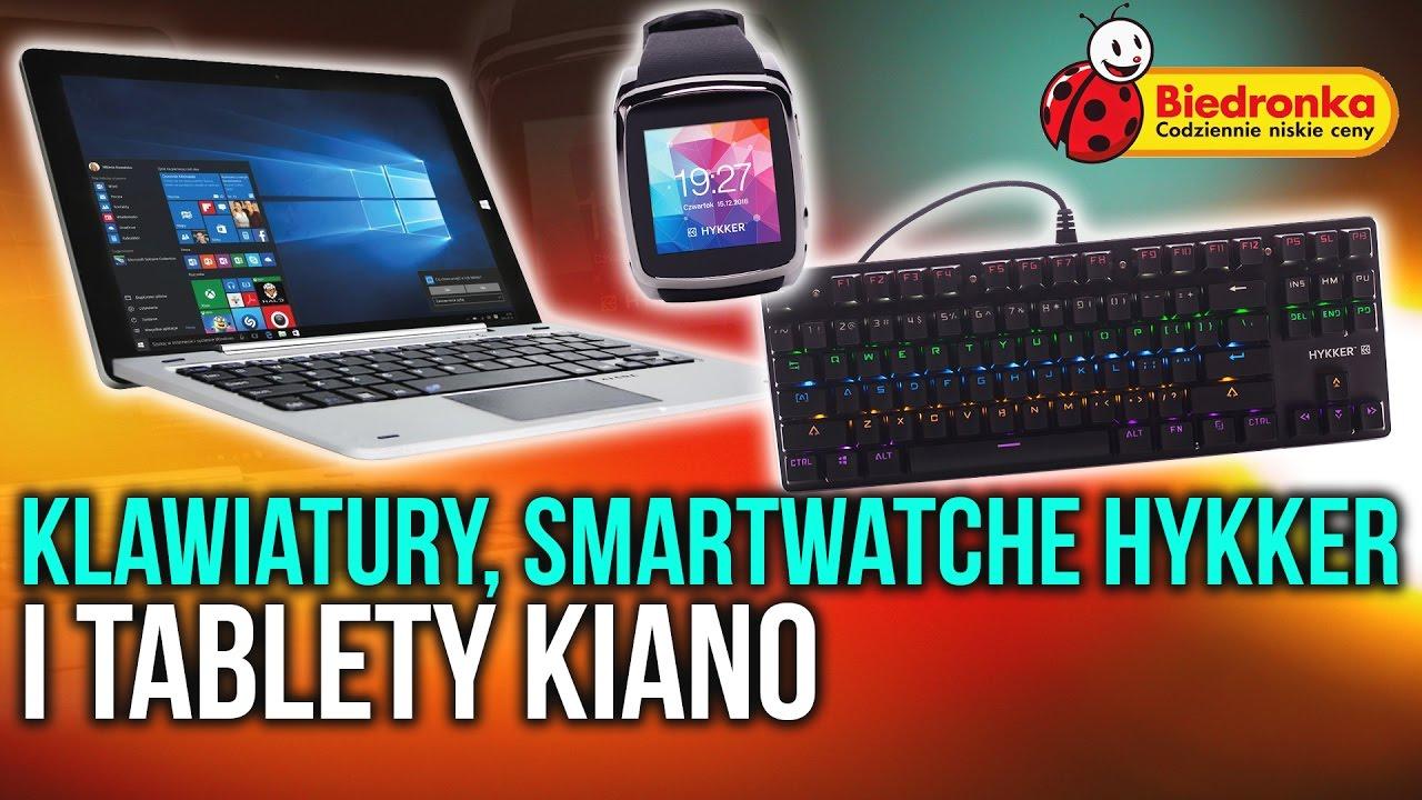 Tani Sprzęt w Biedronce – Klawiatura, Smartwatch, Tablet | PROMOCJA