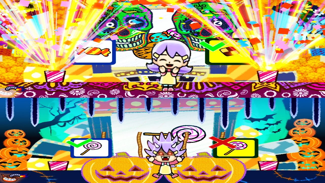 Warioware:Get it Together:Winning and losing in minigame Animations  #Wario#Wariogetittogether