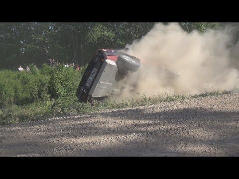 Rally Talsi 2018 Jump, Action, Max Attack, Crash