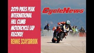 Rennie Scaysbrook Pikes Peak Motorcycle Lap Record - Cycle News