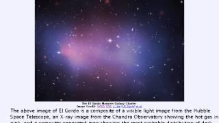 2014年 4月22日 「巨大銀河団:エルゴルド」-Astronomy Picture of the Day