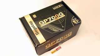PSU Segotep GP700G 80+ Gold 600W Unboxing Review
