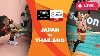Japan v Thailand - 2016 Women's World Olympic Qualification Tournament