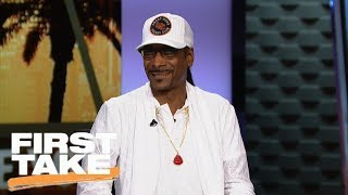 Snoop Dogg dishes on Pittsburgh Steelers, Le'Veon Bell, Antonio Brown and more | First Take | ESPN