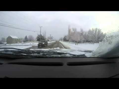 My Winter Drive To Work - Provo, UT