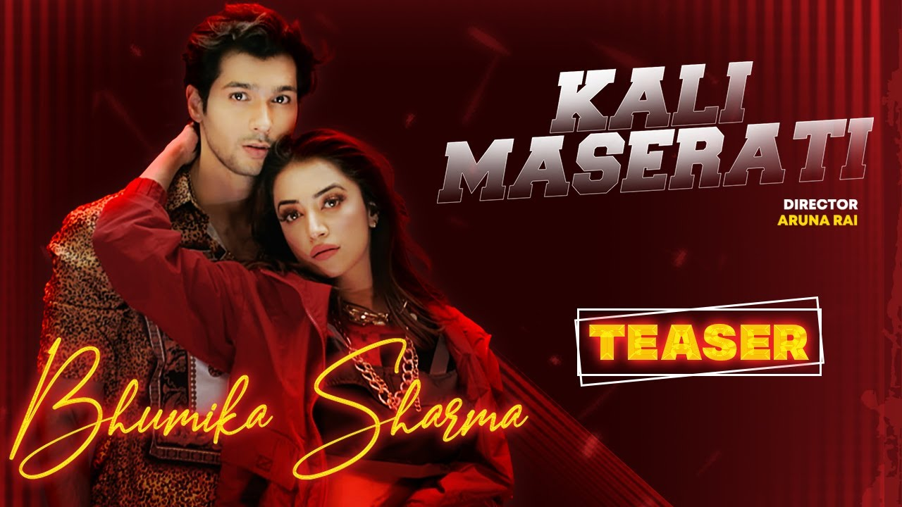 Kali Maserati   Official Teaser   Bhumika Sharma Ft. Abhishek Kumarr & Enzo   New Punjabi Song   FFR