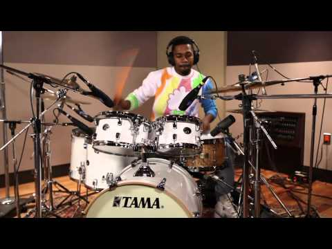 "George ""Spanky"" McCurdy Test-Drives the TAMA Silverstar Hyper-Drive Limited Edition Drum Set"