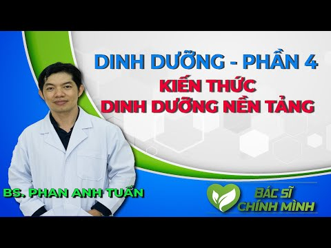 Kiến Thức Dinh Dưỡng Nền Tảng | Dinh Dưỡng Sức Khỏe | Bác Sĩ Chính Mình