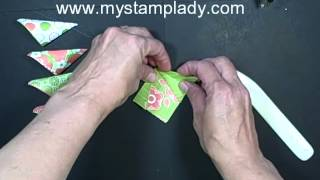 Gambar cover My Stamp Lady: Folded Flowers