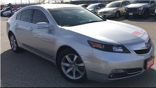 2012 Acura TL V6 w/Technology Package | WHITBY OSHAWA HONDA | Stock #: U3734