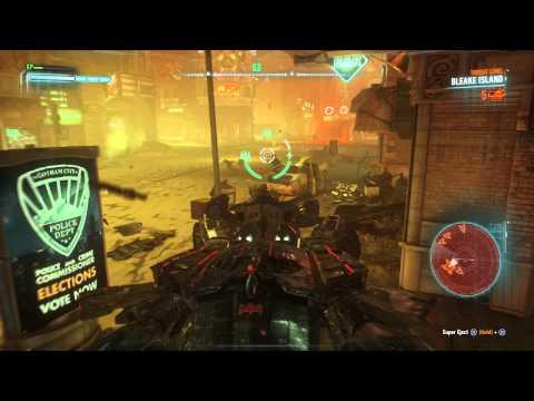 Batman : Akham Knight - Part 29 - Subway Under Construction - PS4 Gameplay