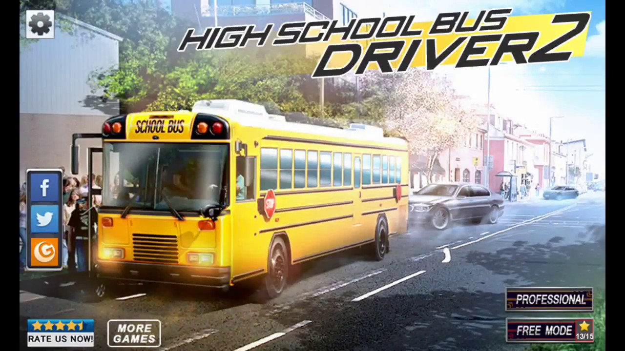 High school bus driver 2 new android gameplay hd youtube.