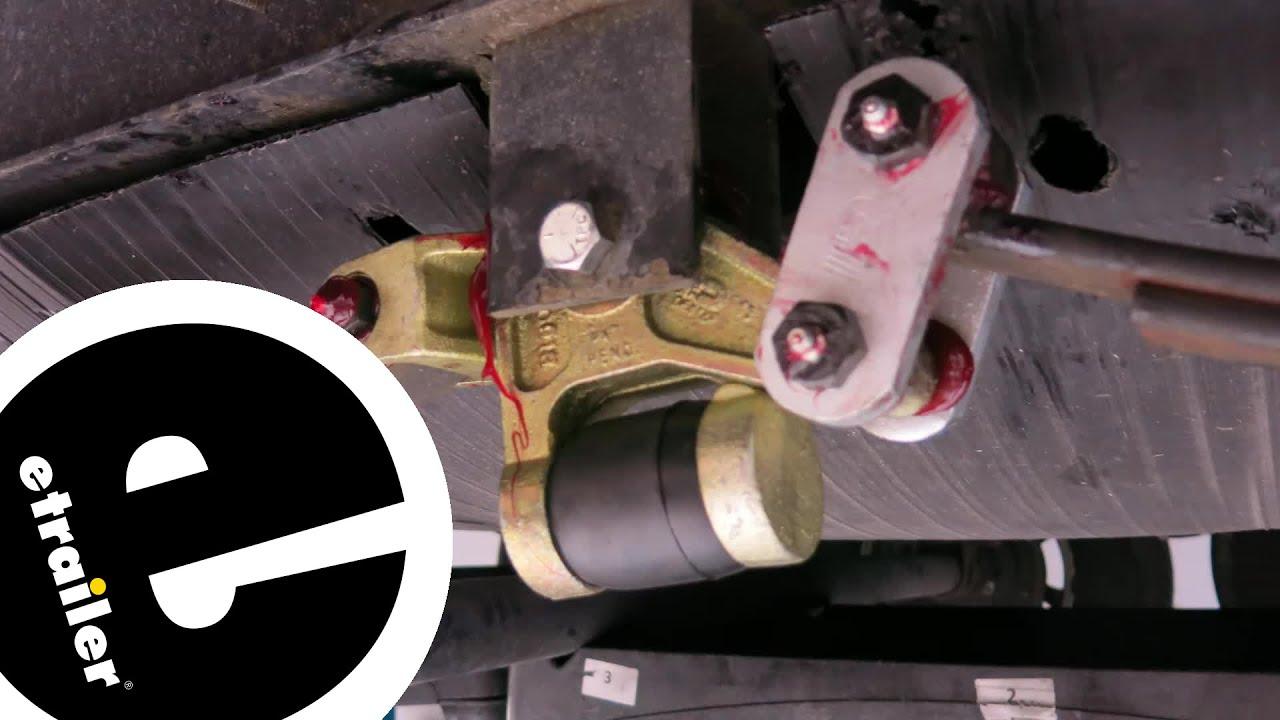 Dexter E-Z Flex Triple Suspension System Kit Installation - etrailer com
