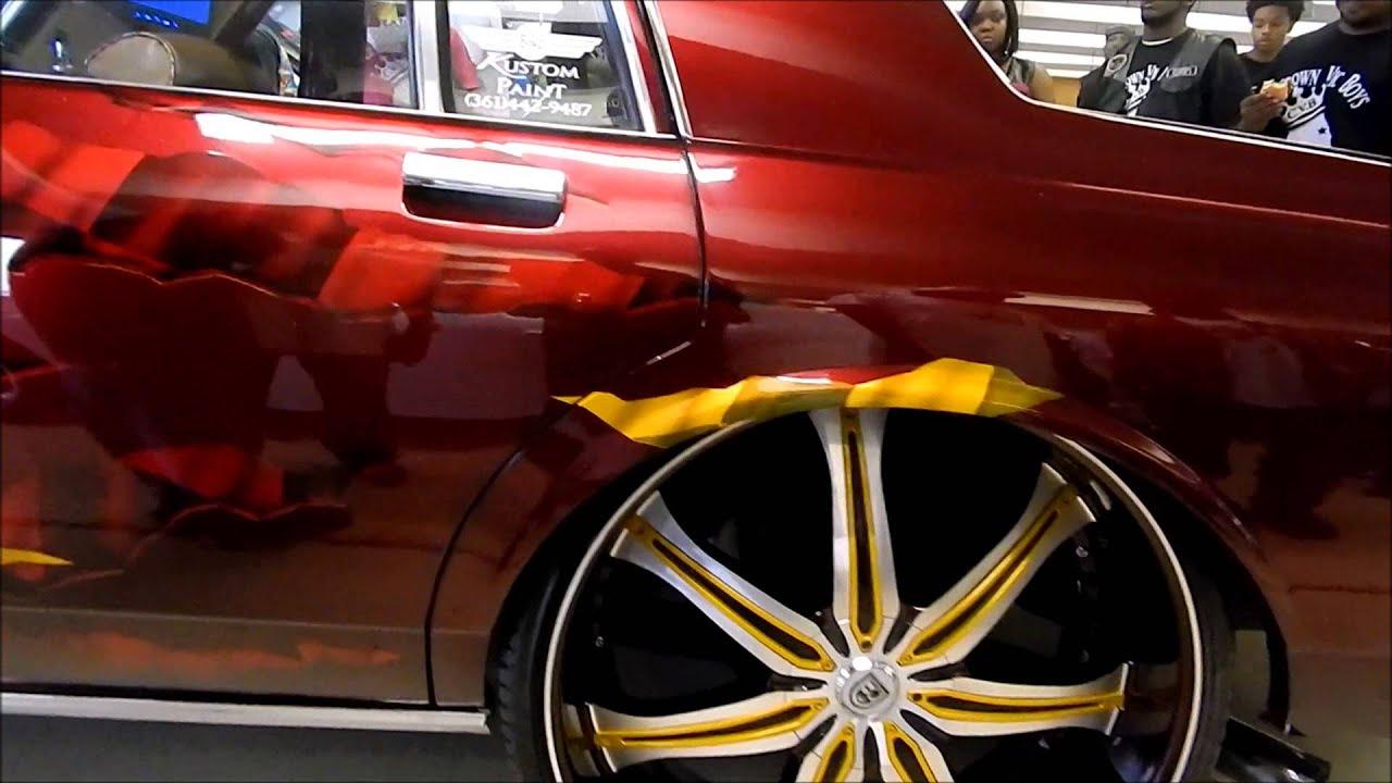 Custom box chevy tucking 26 lexanis beatin at stuntfest - Custom box chevy caprice interior ...
