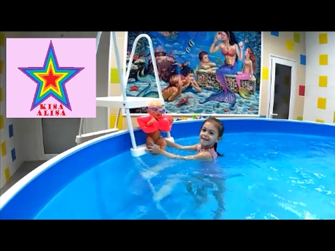 Baby Born Baby Born Swim In The Pool Youtube