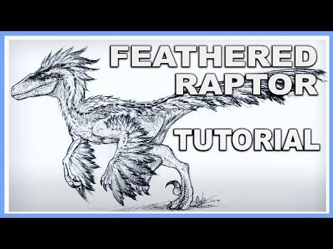 Feathered Velociraptor TUTORIAL - Make it look FAAAAABULOUS