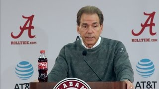 Nick Saban explains why Auburn is an 'outstanding team'