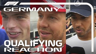 2018 German Grand Prix: Qualifying Reaction