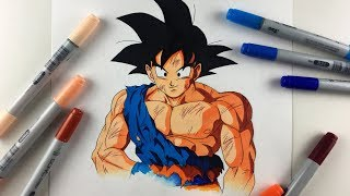 Drawing Goku Dragonball Z