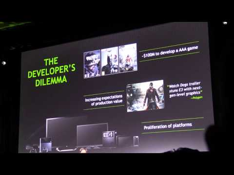 Introducing the new Nvidia Tegra K1 with 192 cores