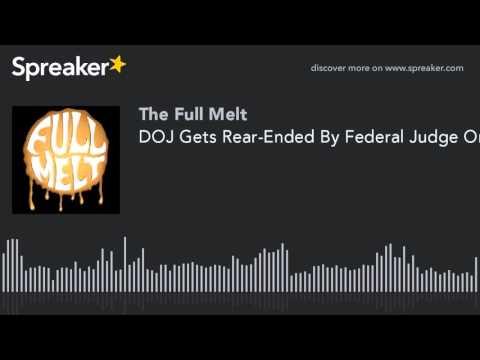 DOJ Gets Rear-Ended By Federal Judge On MMJ