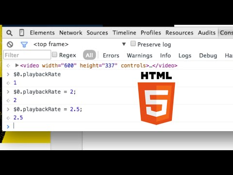 Speed Up Any HTML5 Video Player!