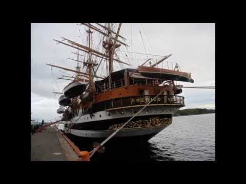 "Raff Channel - ""Living in Norway"": Amerigo Vespucci Ship in Oslo"
