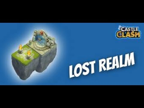 Castle Clash #2 | Lost Realm | Best Team??!!