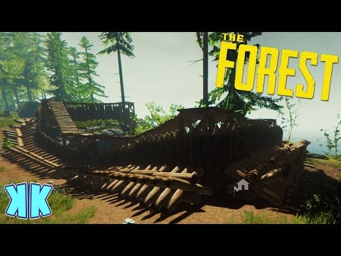The Forest | OUR HOME BASE IS ALMOST DONE! | Updated 2016 Gameplay | #6