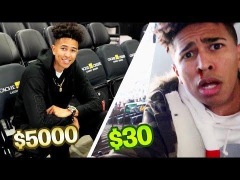 $30 NBA Nosebleed Tickets vs. $5000 NBA Courtside Tickets