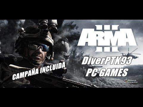 COMO DESCARGAR E INSTALAR ARMA 3 CON CAMPAÑA INCLUIDA FULL PC EN ESPAÑOL