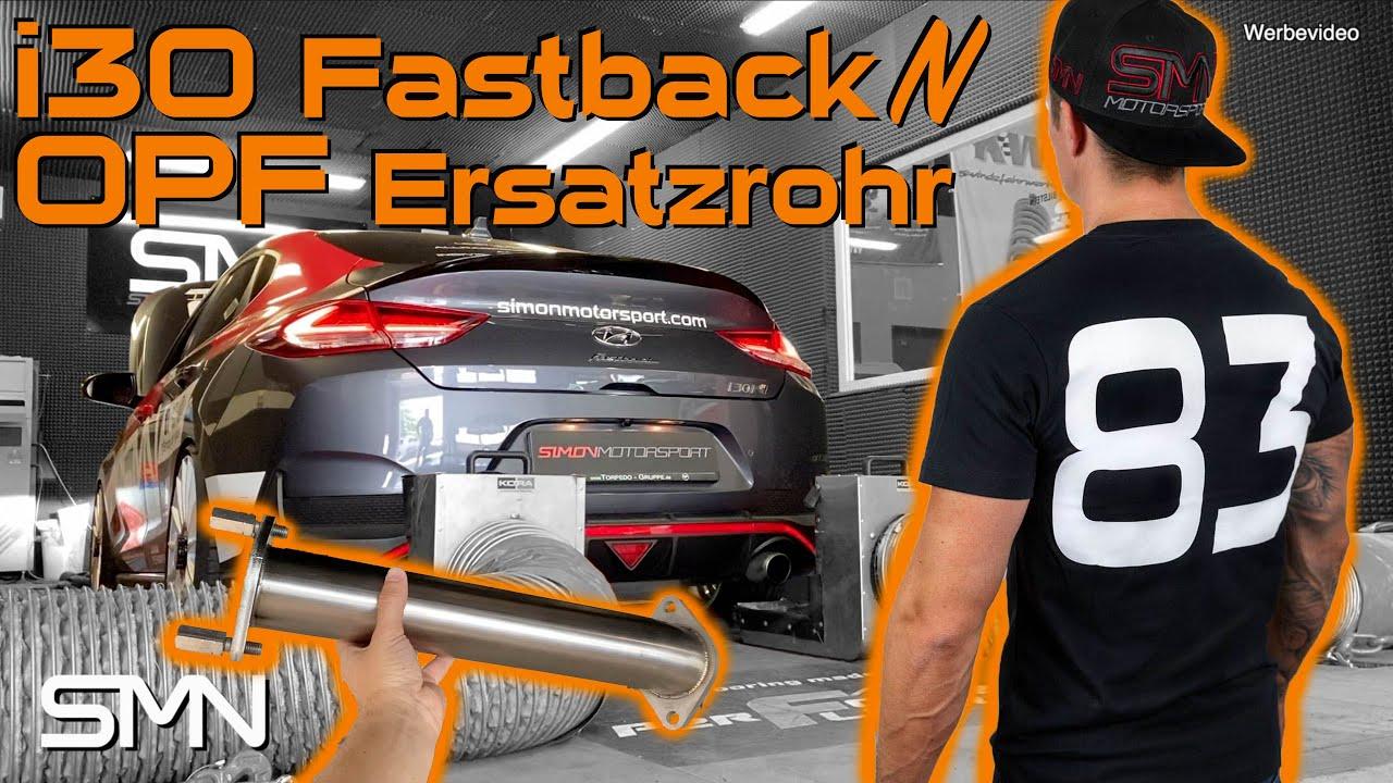 Hyundai i30 Fastback N | Bringt ein OPF Ersatzrohr Leistung?