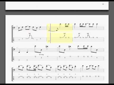 Metallica   ANESTHESIA Pulling Teeth guitar tablature