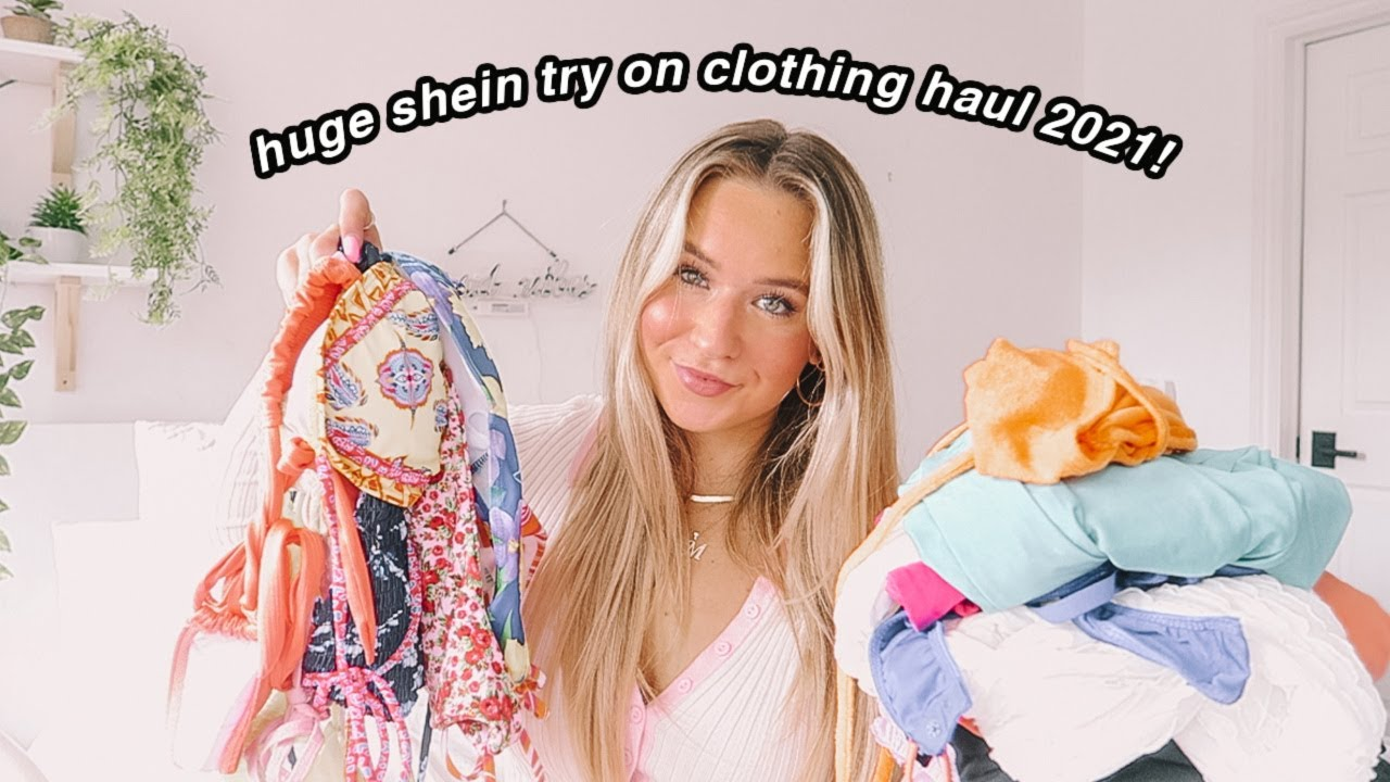 Download *new* huge shein try on clothing haul 2021!