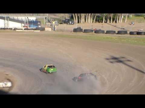 Nodak Speedway IMCA Sport Compact Races (5/14/17)
