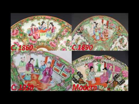 How To Identify and Date Antique Chinese Rose Medallion Porcelain