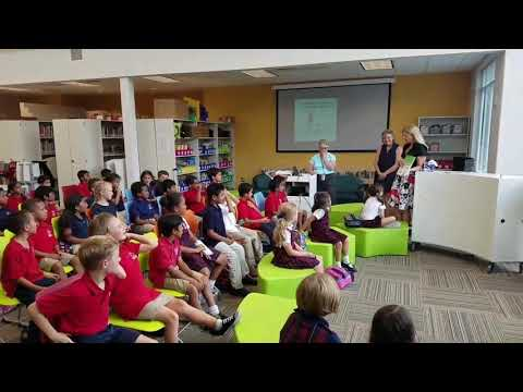 Fulton Science Academy Private School Author Mary Mueller Visit